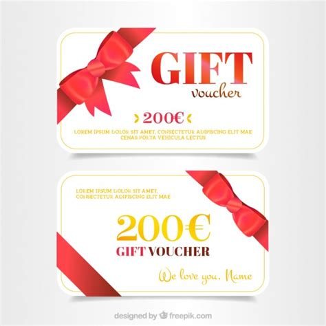 Branded Gift Cards - promotional gift card vector free download