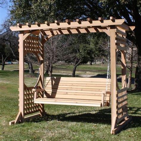 84 best images about swings on pinterest arbors diy tmp outdoor furniture colonial cedar american made arbor