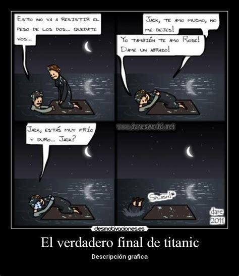 imagenes del verdadero jack del titanic el verdadero final de titanic desmotivaciones