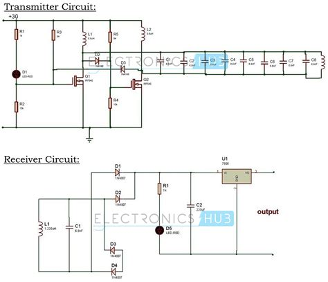 wireless power circuit diagram wireless power transfer circuit wireless mobile charger
