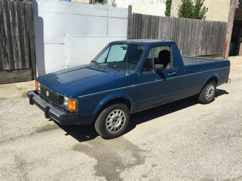 1981 volkswagen rabbit truck 1981 volkswagen rabbit truck 1 5 liter diesel for