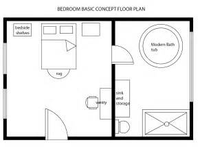 Bed Floor Plan by Interior Design Decor Modern Bedroom Basic Floor Plan