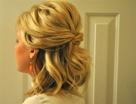 partial updos for medium length hair half up to full updo the small things blog