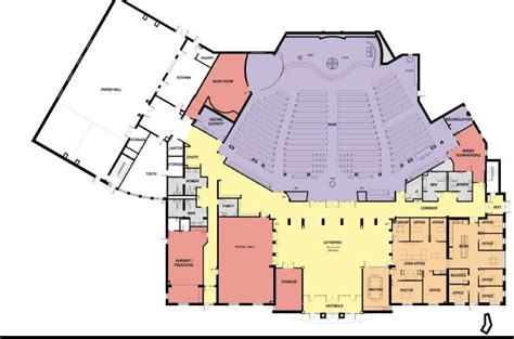 catholic church floor plans courtesy st james catholic church floor plan