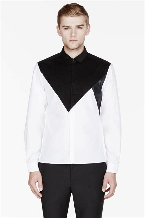 Black And White Shirt White And Black Shirt Mens Is Shirt