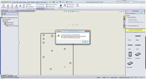 how to show dimensions dual installations of solidworks or quot where did the calloutformat txt file go quot