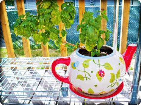 Large Teapot Planter by 20 Of The Most Imaginative Recycled Planter Ideas For Your