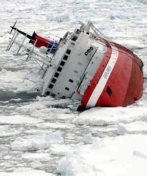 sinking boat icebreaker how to survive a sinking ship boaterexam 174