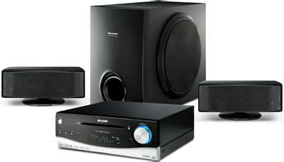 Home Theater Sharp Qwanza Ht Cn890dvw Sharp Htdv40h 2 1ch Home Theatre System With Audistry Sound Technology