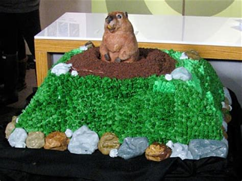 groundhog day decorations groundhog day cake idea groundhog day