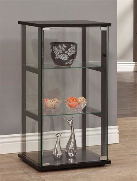 small glass display cabinet curio glass cabinet small display photos ornaments