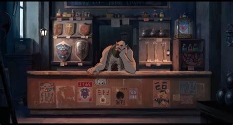 ghibli film trailer コアな海外アーティスト製作 スタジオジブリが描くアニメーション映画 ゼルダの伝説 の予告編 dna