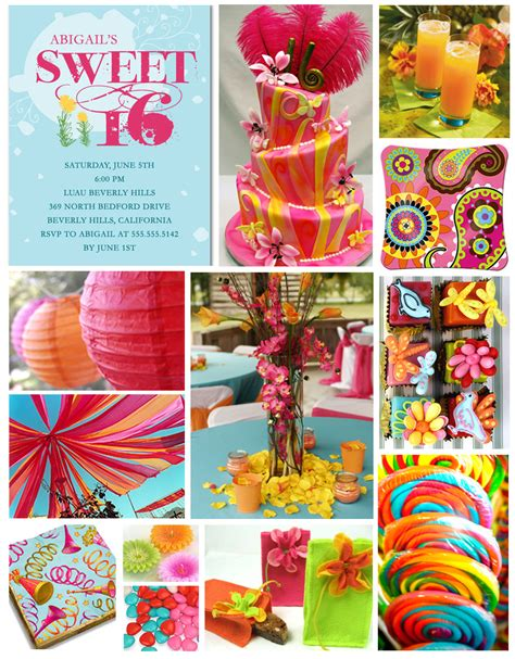 themes for girl sweet 16 sweet 16 party themes ๑ ﺴ perfect parties ﺴ ๑