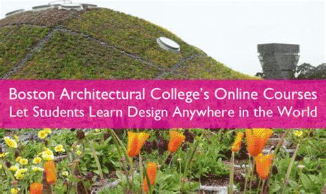 Landscape Architecture Courses Distance Learning Boston Architectural College Design Education