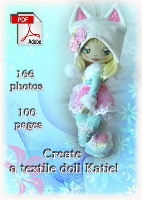 design a doll katie tutorial to create a textile doll katie pdf pattern