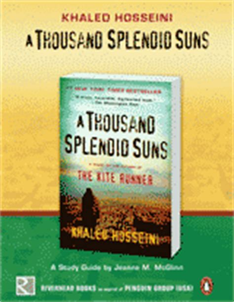 themes and motifs in a thousand splendid suns teacher s guide to a thousand splendid suns by khaled