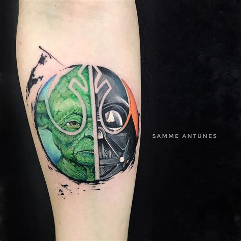 starwars tattoo wars by samme antunes