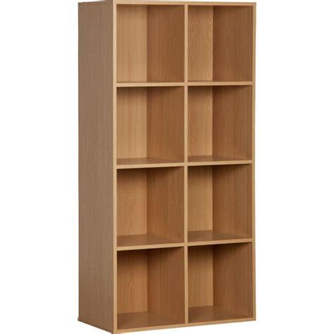 8 cube storage unit beech