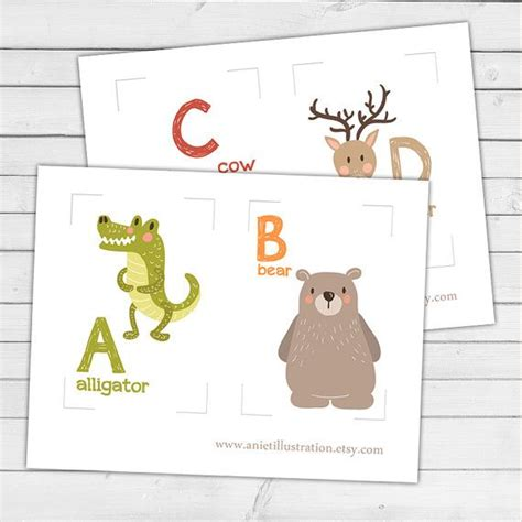 Animal Card Templates by Best 25 Alphabet Flash Cards Ideas On