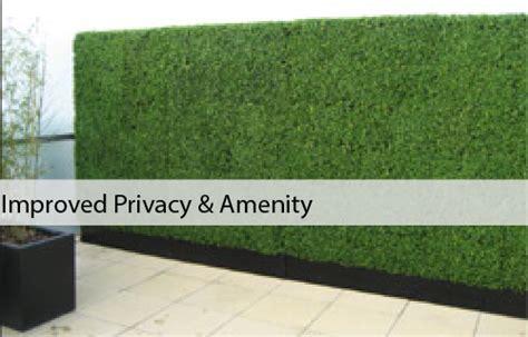 Artificial Boxwood Hedges & Bamboo Panels   Designer Plants