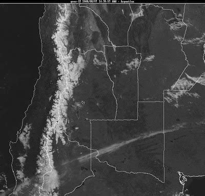 imagenes satelitales meteorologia meteorolog 237 a pr 225 ctica fotos satelitales de la cordillera