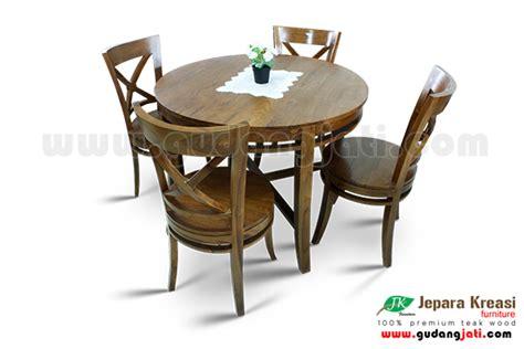 Lu Meja meja makan osaka 4k jepara kreasi furniture
