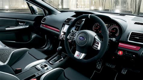 subaru wrx interior 2016 2016 subaru wrx s4 ts sti announced for