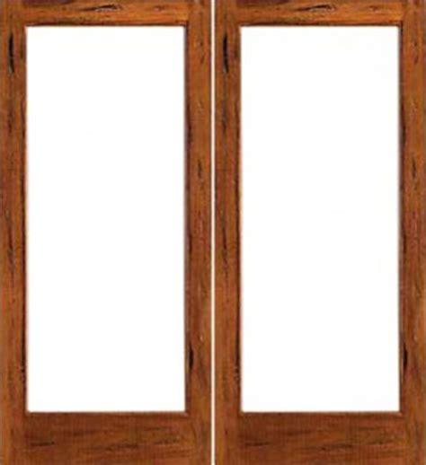 Rustic Wood Doors Interior Rustic 1 Lite Interior Solid Wood Ig Glass Door Mediterranean Doors Ta