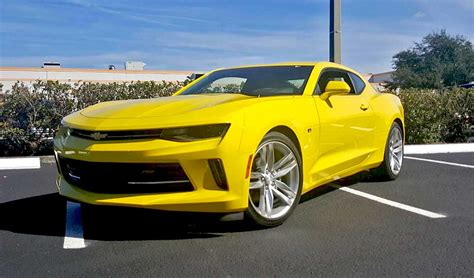 2016 chevrolet camaro review 2016 chevrolet camaro rs review pics and specs