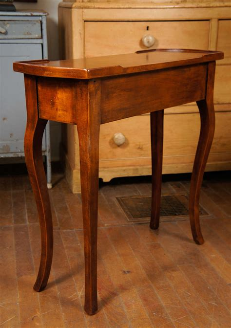 Small End Table With Drawer by Mahogany Single Drawer Small End Table At 1stdibs