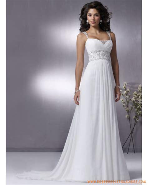 robe de mari 233 e simple pas cher id 233 e mariage robe de - Robe Blanche Simple Pour Mariage