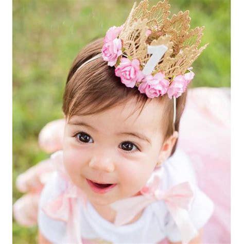 gold crown headband girls or boy s birthday by princess girl head accessories 2017 newborn hairband hair