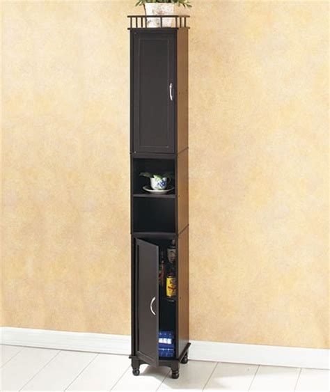 slim kitchen cabinet new 65 quot slim storage cabinet kitchen laundry pantry