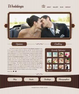 Free Website Templates Page 14 Free Wedding Website Templates