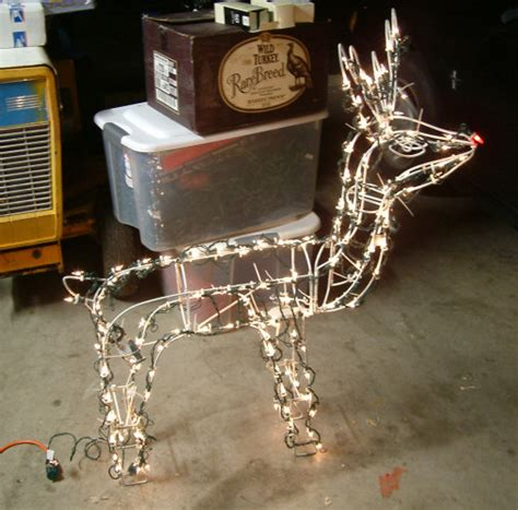 how to rewire an xmas reindeer spookyblue projects