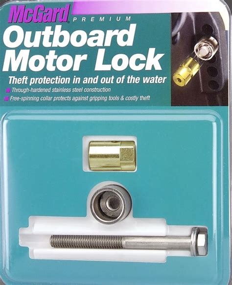 mercury outboard motor mounting stainless steel bolts mcgard outboard motor bolt lock 5 16 inch 18 74049