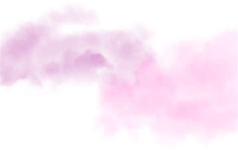 ftestickers clouds mist fog pink