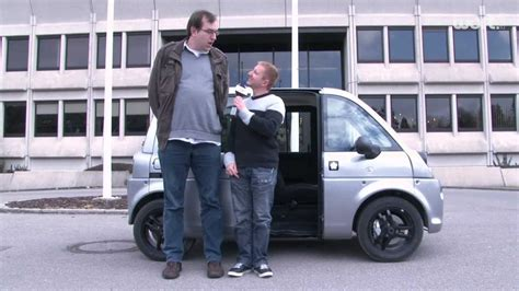 Mia Auto by Test Driving The Mia Electric Car In Luxembourg Youtube