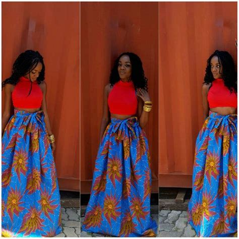 pictures of skirt sown with ankara material 17 best images about ankara on pinterest african fashion