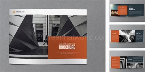 download architecture business brochure template free