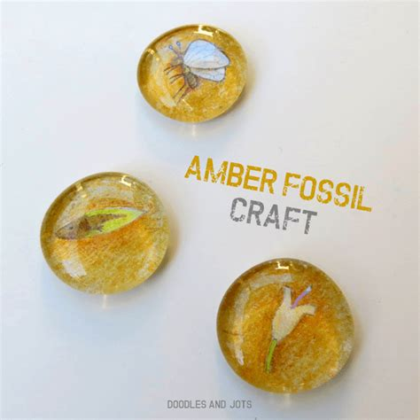fossil crafts for fossil and craft doodles and jots