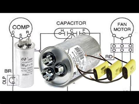 que es capacitor dual capacitor dual como reemplazarlo aire acondicionado