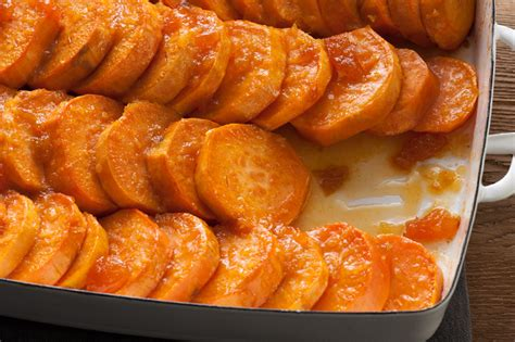 baked ginger sweet potatoes recipe chowhound