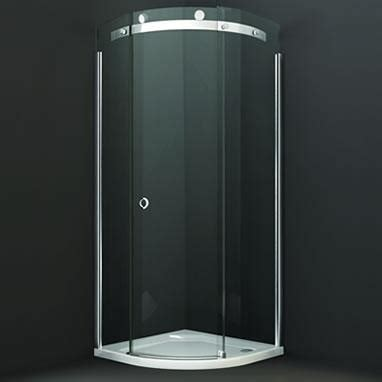 Smoked Glass Shower Doors Merlyn 10 Series 900mm Quadrant Shower Door Smoked Glass M103221b Sanctuary Bathrooms