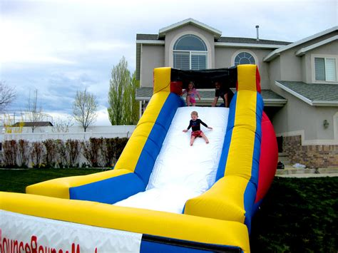Bounce House Water Slide by Slides Or Bounce Bounce Mania