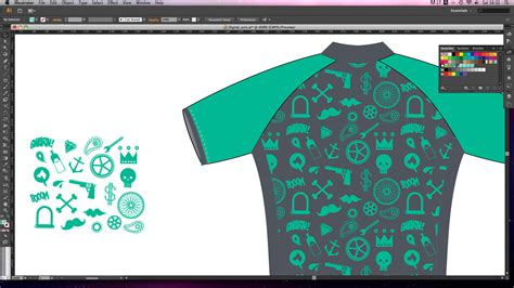 pattern in illustrator cs6 adobe illustrator tutorial create seamless repeating