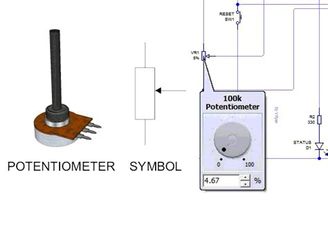 variable resistor connection datasheet potentiometer variable resistor
