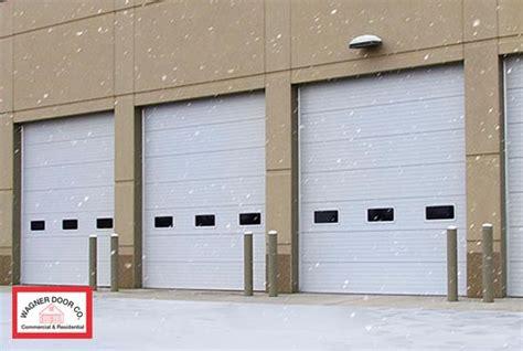 insulated commercial garage doors st louis insulated garage doors insulated commercial