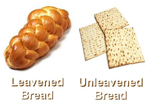 food recipes leavened and unleavened bread photos of biblical explanations pt 1 purge the leaven