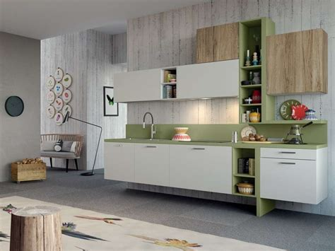 mobili per la cucina mobili sospesi in cucina foto design mag